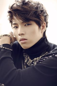 woohyun :D of Infinite~~~The eyes sold me.