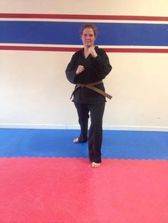 Congratulation to our newest Brown Belt Jessica!