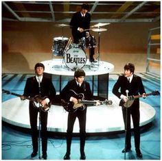 Beatles Ed Sullivan Show Lennon McCartney Music Poster 11x11
