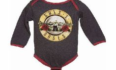 Amplified Kids Kids Charcoal Marl And Red Guns N Roses Logo Featuring the iconic graphic taken from the Guns N Roses drum, this cute babygrow is an ideal way to pay tribute to the US rockers! The logo has been deliberately distressed for a more authentic look, http://www.comparestoreprices.co.uk/childrens-clothes/amplified-kids-kids-charcoal-marl-and-red-guns-n-roses-logo.asp
