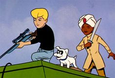 Posts about Jonny Quest written by Tim Rose Retro Cartoons, Old Cartoons, Classic Cartoons, Cartoon Crazy, Cartoon Tv, Cartoon Characters, William Hanna, Hanna Barbera, Jonny Quest Cartoon