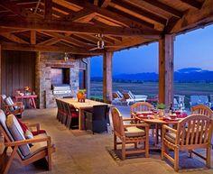 Американский сельский дом в штате Монтана - Сундук идей для вашего дома - интерьеры, дома, дизайнерские вещи для дома