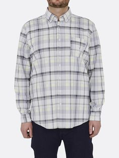 Shirt Cotton Oxford Check