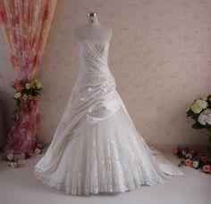handmade vintage-inspired gown