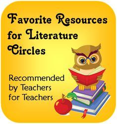 Favorite Resources for Literature Circles - Visit this page on Teaching Resources to find favorite literature circle books for students and favorite literature circle resources for teachers!