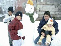 Invierno de 2007 - Muñeco de nieve.