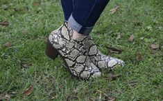 These black snake booties can go with everything. Pair with a plain outfit for an amazing pop of fabulous! Girls Boutique, Snake, Booty, Pairs, Outfits, Shoes, Black, Clothes, Swag