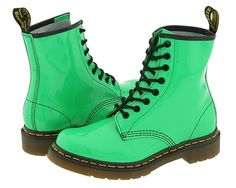 My baybees I ♥ my green Docs, and I swear they go with everything!