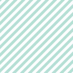 Diagonal Stripe Mint fabric by honey