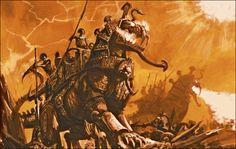 Fantasy Battle, Fantasy Races, Fantasy Armor, Fantasy Kunst, Dark Fantasy Art, Fantasy World, Warhammer Tomb Kings, Warhammer 40k Art, Warhammer Fantasy Roleplay
