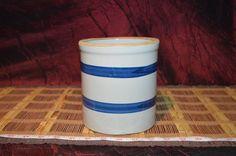 """Handmade Pottery Stoneware Vase or Utensil Holder 5 7/8""""x5 5/8"""""""