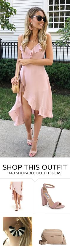 summer outfits  Summer Wedding Ready!  All Sorts Of Obsessed With This Maxi Ruffle Dress - That's Actually A Romper!  Perfect Option For Rooftop Or Breezy Beach Parties + Occasions (because Sometimes Wind Is The Enemy )! It Comes In 2 Colors And Is Under $60!