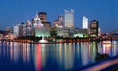 Pittsburgh :) - GORGEOUS!!!!  @Carrie Ruhl, we need to visit next year!  PENS GAME!!!!!!!!!!!!!