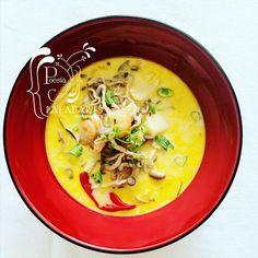 Paladares {Sabores de nati }: Sopa Tom Yam Kung de Kwan Homsai [Reto Cocinas del Mundo - Tailandia] cocina tailandesa, cozinha tailandesa, cucina tailandese, sopa, Thai cuisine, Thai soup, Tom Yam Kung, ซุปไทย อาหารไทย, อาหารไทย,