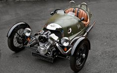 2013 Morgan 3 Wheeler - Straddling the front wheels is a 2.0-liter 'X-Wedge' V-twin from Wisconsin bike-engine maker S    Read more: http://www.motortrend.com/roadtests/convertibles/1208_2013_morgan_3_wheeler_first_drive/#ixzz2CtfcnPuk
