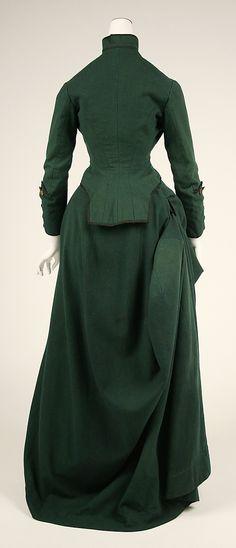 Riding Habit  Date:ca. 1872Culture:AmericanMedium:(a, b) wool (c) (no medium available)