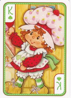 SSC Playing Cards - Best Deck - 36 Strawberry Shortcake Pictures, Strawberry Shortcake Characters, Vintage Strawberry Shortcake, Huckleberry Pie, My Melody Wallpaper, Unicorn Drawing, Old School Toys, Rainbow Brite, Holly Hobbie