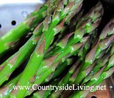 #Спаржа зеленая, приготовленная на пару