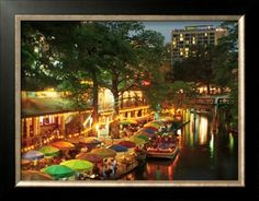 San Antonio River Walk This is really nice at night