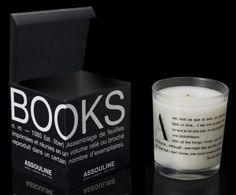 Online, si sa, si trovano gli oggetti più bizzarri. My Chic Jungle ha selezionato per voi una spassosa top ten:  Book scent candle