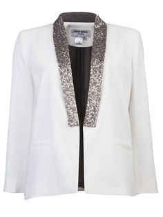 HELENE BERMAN - Sequined tux jacke. Found at @Nordstrom Tysons Corner  and love it.