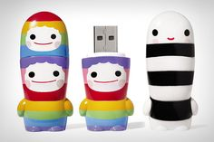 FriendsWithYou Mimobot USB Flash Drives