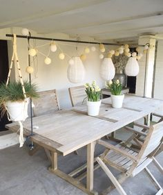 Would you like to have a dream garden? Then let this 10 dream garden - Garden Design Outdoor Rooms, Outdoor Furniture Sets, Deco Table, Home And Deco, Dream Garden, Diy Garden, Garden Inspiration, Interior Design Living Room, Home And Living