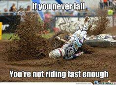 Ride fast,