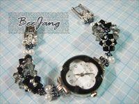 bead_tutorial: [Tutorial] Crystal Watchband #1
