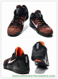 sports shoes c2f65 a7e9a Nike Kobe 9 Elite Low 639045-418 Black
