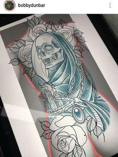 Scary Tattoos, Boy Tattoos, Skull Tattoos, Body Art Tattoos, Sleeve Tattoos, Buho Tattoo, Backpiece Tattoo, Sketch Tattoo Design, Tattoo Sketches