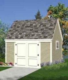Build any of 41 great designs for storage sheds, mini barns, tool sheds, garden sheds, small garages, hobby shops, pool houses, cabanas, backyard studios and home offices with these detailed construction blueprints