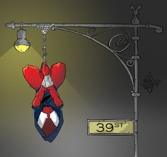 Scarlet Spider by LloydBridgemanInk