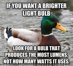 It's a common mistake people make when shopping for light bulbs