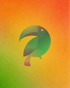 A designer Dorota Pankowska criou uma série de GIFs animados e coloridos de 13 animais desenhados pela combinação de 13 círculos perfeitos. O projeto foi inspirado pelo famoso pássaro do Twitter, t…