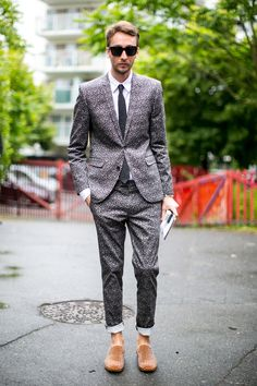 Sharp jackets: men's street style roundup from Paris - Fashionising.com