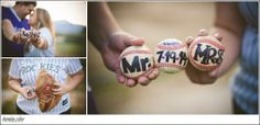 #shannoncokerphotography #couples #couplesphotos #couplesphotography #engagement #engagementphotography #baseballphotography #baseballphotos #props #photoprops