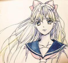 Minako (#Minako Aino #Sailor Venus)
