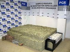 In a recent raid that took place inside of a Mexican drug lord's home, millions of dollars in cash, deadly weapons, exotic animals and enough drugs to make entire country fall into addiction were confiscated by officials.