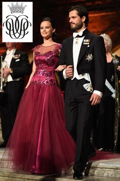 New joint monogram of Prince Carl Philip and his wife Sofia, integrated C,P and S