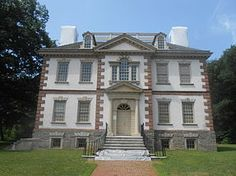 Mount Pleasant - main house in Fairmount Park, Philadelphia PA. Benedict Arnold V bought this for his bride Peggy Shippen