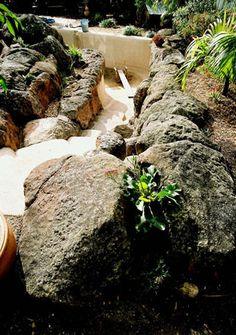 making artificial rocks and garden boulders