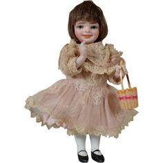 """Orsini """"Didi"""" All Bisque Doll - 5 Inches"""