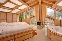 Chalet Heinz Julen Penthouse - Bedroom