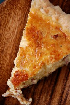 Bacon Quiche - good for every meal and even in between!!  mmm good!