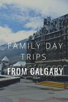Family Friendly day trips from Calgary, Alberta hours drive away Day Trips Near Me, Calgary, Travel With Kids, Family Travel, Canada Destinations, Vacation Destinations, Canadian Travel, Canadian Rockies