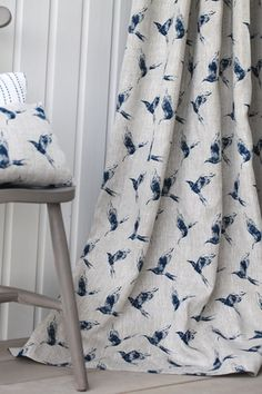 7 Healthy Tips AND Tricks: Velvet Curtains Gone With The Wind navy curtains kitc. Bird Curtains, Navy Curtains, Shabby Chic Curtains, Long Curtains, Curtains Living, Rustic Curtains, Velvet Curtains, Colorful Curtains, Curtain Fabric