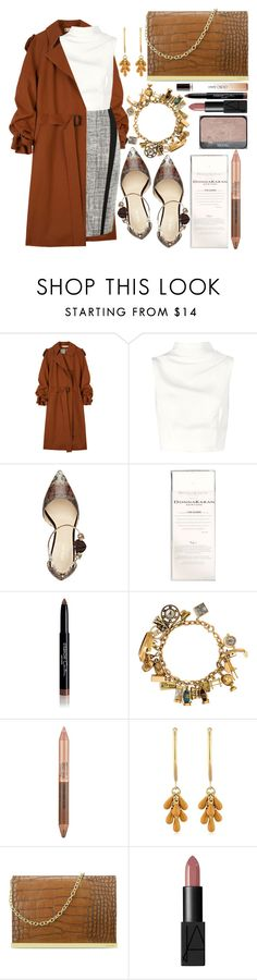 """""""All the fog the night creates"""" by karllydolly ❤ liked on Polyvore featuring Marni, Karen Millen, Keepsake the Label, Nine West, Donna Karan, Givenchy, Estée Lauder, Isabel Marant, NARS Cosmetics and Jimmy Choo"""