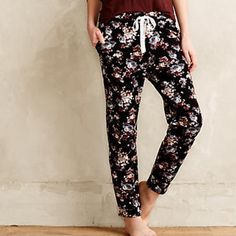 Puella floral sweatpants anthropologie Brand new Anthropologie Pants Track Pants & Joggers