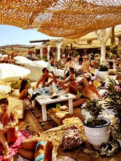 Mykonos. Where we partied all day and night! -mere